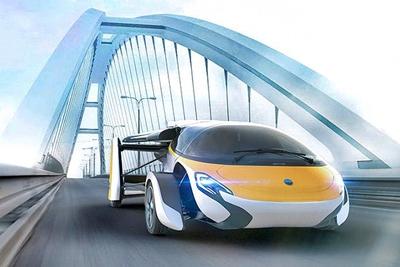 3d2f61ba1d3a Kiállították Monacóban a több mint 1 millió euróba kerülő repülő autót.